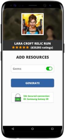 Lara Croft Relic Run MOD APK Screenshot