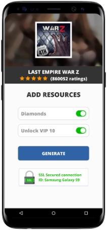 Last Empire War Z MOD APK Screenshot