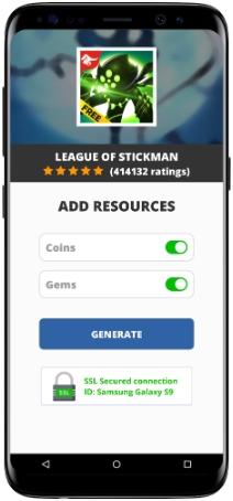 League of Stickman MOD APK Screenshot