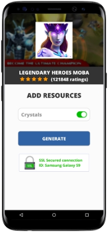Legendary Heroes MOBA MOD APK Screenshot