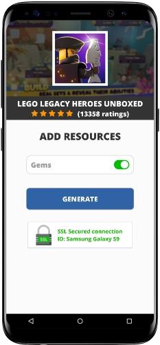 LEGO Legacy Heroes Unboxed MOD APK Screenshot