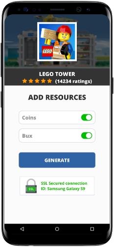 LEGO Tower MOD APK Screenshot