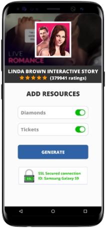 Linda Brown Interactive Story MOD APK Screenshot