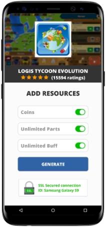 Logis Tycoon Evolution MOD APK Screenshot