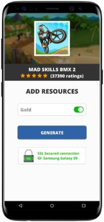 Mad Skills BMX 2 MOD APK Screenshot