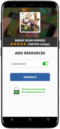 Magic Rush Heroes MOD APK Screenshot