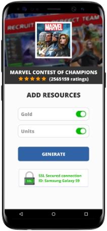 Marvel Contest of Champions MOD APK Screenshot