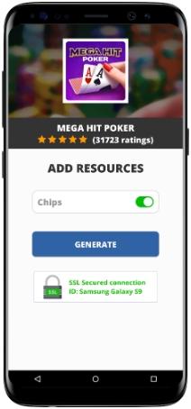 Mega Hit Poker MOD APK Screenshot