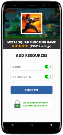 Metal Squad Shooting Game MOD APK Screenshot