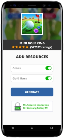 Mini Golf King MOD APK Screenshot