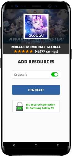 Mirage Memorial Global MOD APK Screenshot