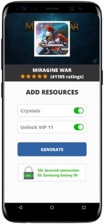 Miragine War MOD APK Screenshot