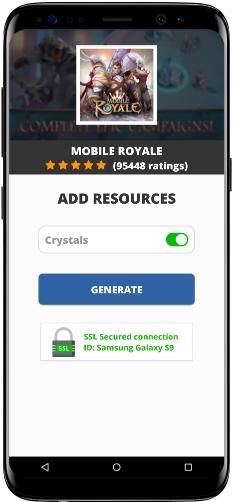 Mobile Royale MOD APK Screenshot