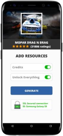 Mopar Drag N Brag Mod Apk Unlimited Credits Unlock Everything