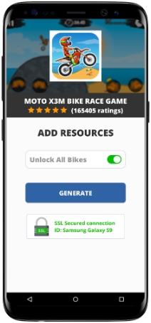 Moto X3M Bike Race Game MOD APK Screenshot