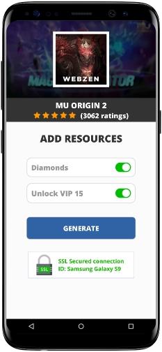 MU ORIGIN 2 MOD APK Screenshot