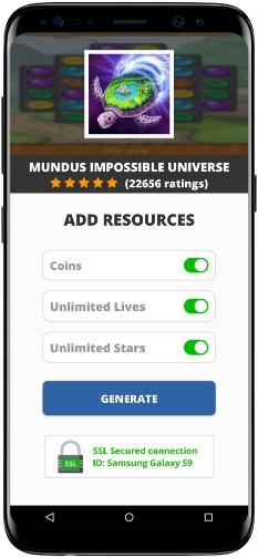 Mundus Impossible Universe MOD APK Screenshot