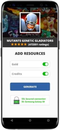 Mutants Genetic Gladiators MOD APK Screenshot