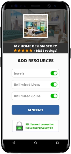 My Home Design Story MOD APK Screenshot