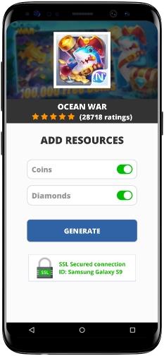 Ocean War MOD APK Screenshot