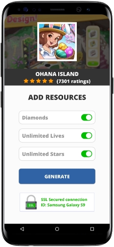 Ohana Island MOD APK Screenshot