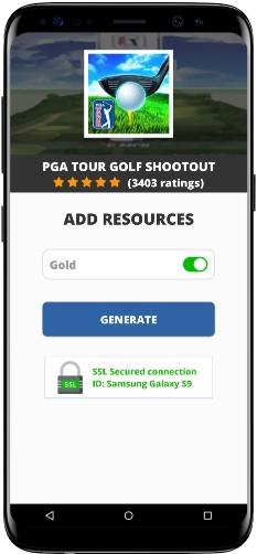 PGA TOUR Golf Shootout MOD APK Screenshot