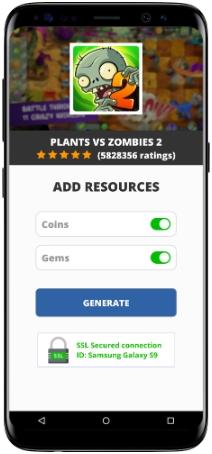 Plants vs Zombies 2 MOD APK Screenshot