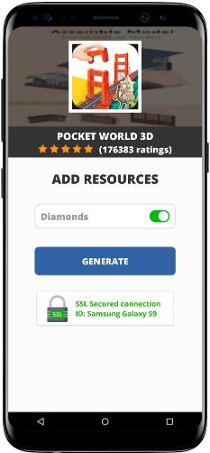 Pocket World 3D MOD APK Screenshot