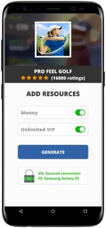 Pro Feel Golf MOD APK Screenshot
