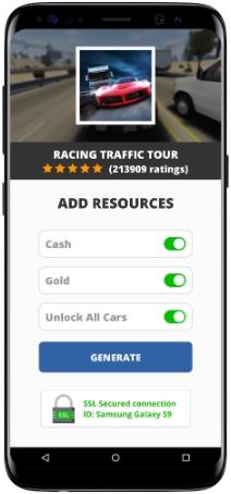 Racing Traffic Tour MOD APK Screenshot