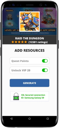 Raid the Dungeon MOD APK Screenshot
