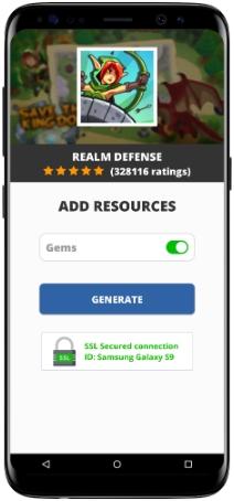 Realm Defense MOD APK Screenshot