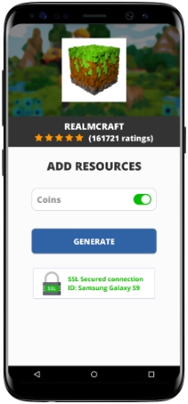 RealmCraft MOD APK Screenshot