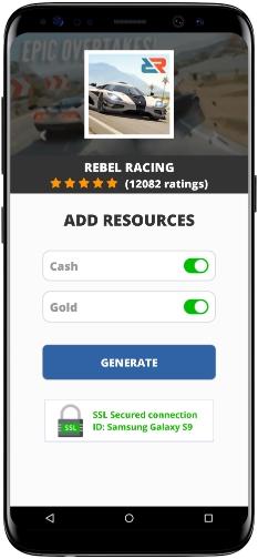 Rebel Racing MOD APK Screenshot