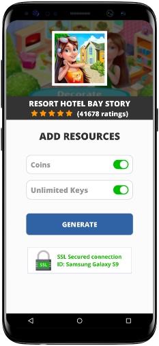 Resort Hotel Bay Story MOD APK Screenshot