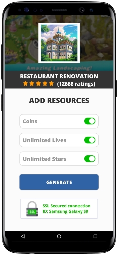 Restaurant Renovation MOD APK Screenshot