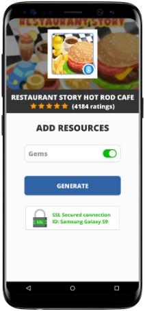 Restaurant Story Hot Rod Cafe MOD APK Screenshot