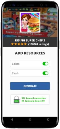 Rising Super Chef 2 MOD APK Screenshot