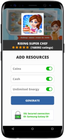 Rising Super Chef MOD APK Screenshot