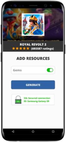 Royal Revolt 2 MOD APK Screenshot