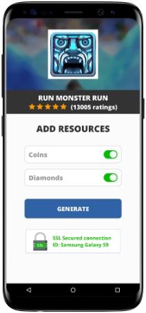 Run Monster Run MOD APK Screenshot