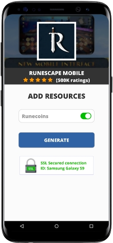 RuneScape Mobile MOD APK Screenshot