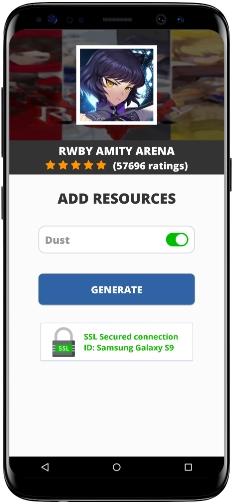RWBY Amity Arena MOD APK Screenshot