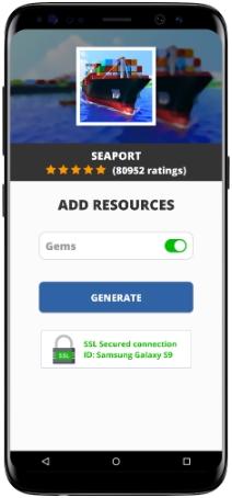 Seaport MOD APK Screenshot