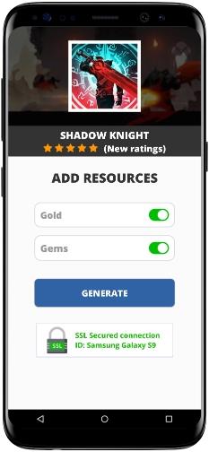 Shadow Knight MOD APK Screenshot