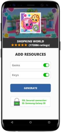 Shopkins World MOD APK Screenshot