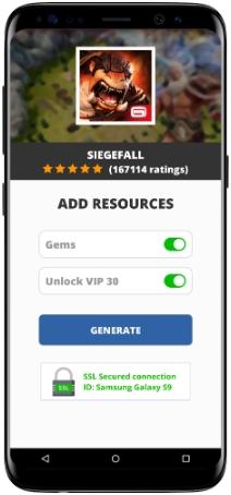 Siegefall MOD APK Screenshot