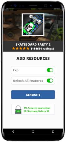 Skateboard Party 2 MOD APK Screenshot