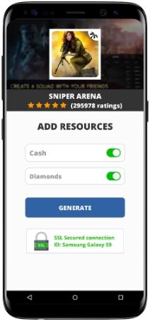 Sniper Arena MOD APK Screenshot