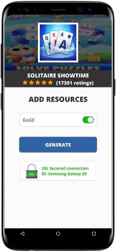 Solitaire Showtime MOD APK Screenshot